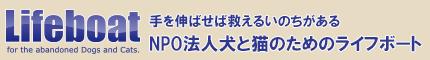 NPO法人犬と猫のためのライフボート~子犬子猫の里親募集~